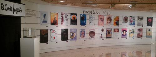 Exposición pública - Concurso de Carteles FacoElche 2013