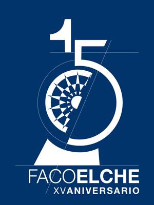 Logotipo 15 aniversario FacoElche