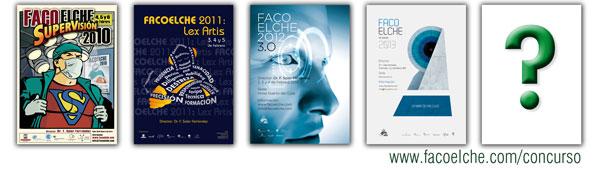 Concurso de carteles FacoElche 2014