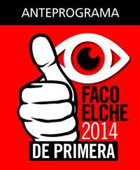 Anteprograma FacoElche 2014