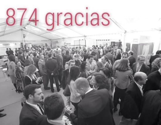874 gracias