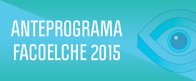 Anteprograma FacoElche 2015