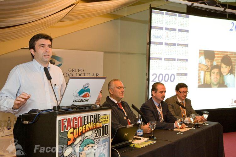 """""""Supervisión: ¿Qué era en 2000, qué es en 2010 y qué será en 2020?"""" Una lección magistral del Prof. Pablo Artal en FacoElche 2010"""