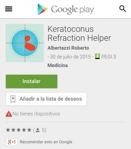 Keratoconus Refraction Helper Android