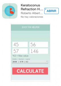 Keratoconus Refraction Helper iOS