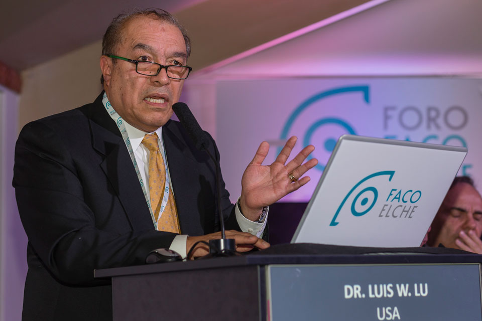 Conferencia de apertura. Dr. Luis W. Lu